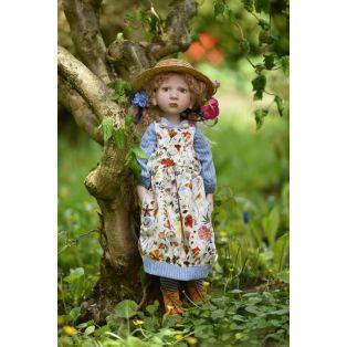 Zwergnase Art Doll 2021, Clementine Limited Edition 25 Dolls, 60cm