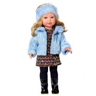 Vestida de Azul Coral Blue Fur Coat CLOTHES SET 45cm