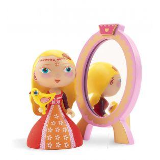 Djeco Art Toys Princess Nina & Ze Mirror, 7cm