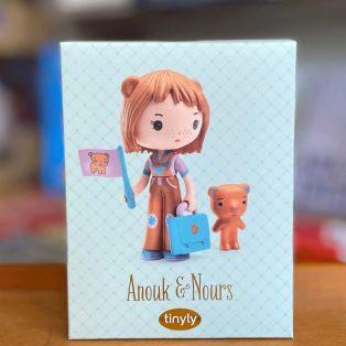 Djeco Tinyly Figurine Anouk & Nours, 7.5cm alternate image