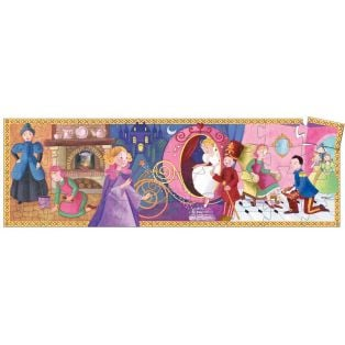 Djeco Silhouette Puzzle Cinderella, 36 pcs alternate image