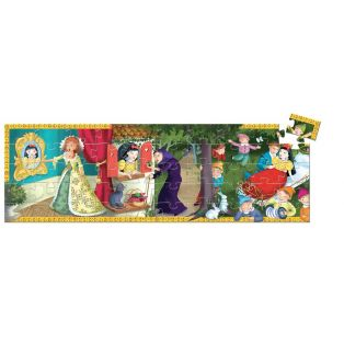 Djeco Silhouette Puzzle Snow White, 50 pcs alternate image