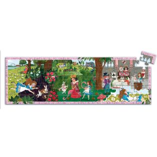 Djeco Silhouette Puzzle Alice In Wonderland, 50 pcs alternate image