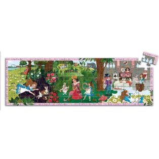Djeco Silhouette Puzzle Alice In Wonderland, 50 pcs alternate image