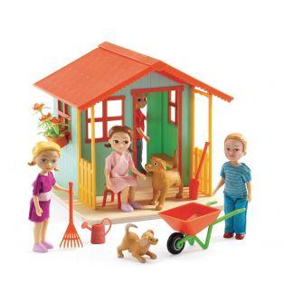 Djeco Dolls' House - Garden House