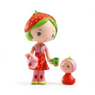 Djeco Tinyly Figurine Berry & Lila, 7.5cm
