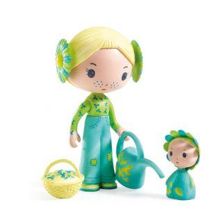 Djeco Tinyly Figurine Flore & Bloom, 7.5cm