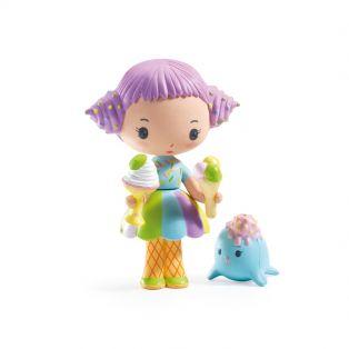 Djeco Tinyly Figurine - Tutti & Frutti, 7.5cm