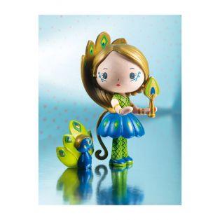 Djeco Tinyly Figurine - Paloma & Bogo, 7.5cm alternate image
