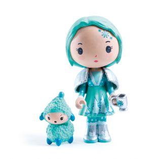 Djeco Tinyly Figurine - Cristale & Frizz, 7.5cm