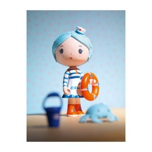 Djeco Tinyly Figurine - Marinette & Scouic, 7.5cm alternate image