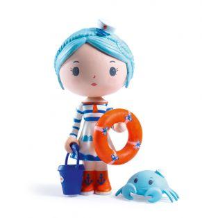 Djeco Tinyly Figurine - Marinette & Scouic, 7.5cm