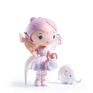 Djeco Tinyly Figurine - Elfe & Bolero, 7.5cm