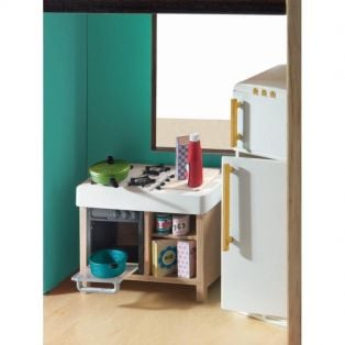 Djeco Petit Home Collection Furniture For Doll's House - Compact Kitchen alternate image