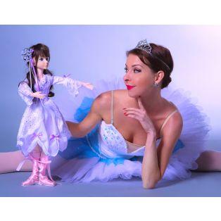 My Ballerina Dollz Clara Marie 53cm Vinyl Doll With 23 Joints alternate image