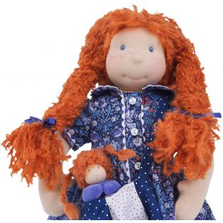 Ciao Bimba  Waldorf Child Doll Rachel, 40cm alternate image