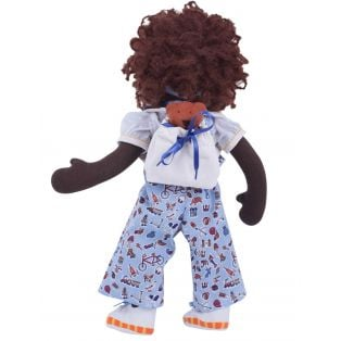 Ciao Bimba African Waldorf Child Doll Zara, 40cm  alternate image