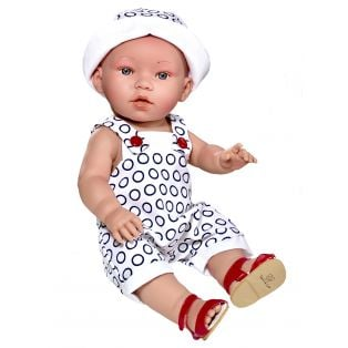 Vestida de Azul Anatomically Correct Baby Doll Dylan 38cm Vinyl Body