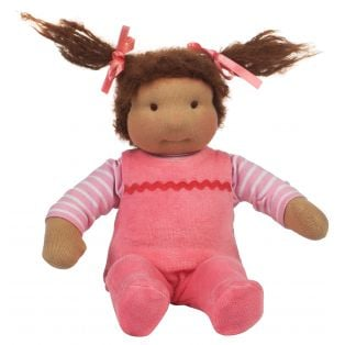 Ciao Bimba Mini Bambina Waldorf Baby Girl Doll Elisa alternate image