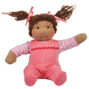 Ciao Bimba Mini Bambina Waldorf Baby Girl Doll Elisa