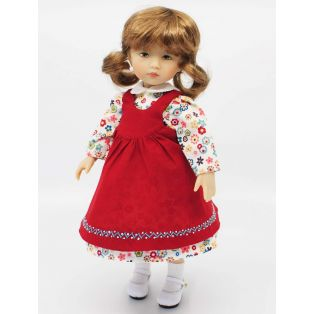 BONEKA Thursday's Child GREEN EYES Emilia 25cm Doll