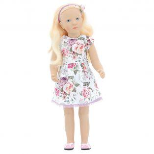 Petitcollin Finouche Rose Doll, Limited Edition 100, 48cm