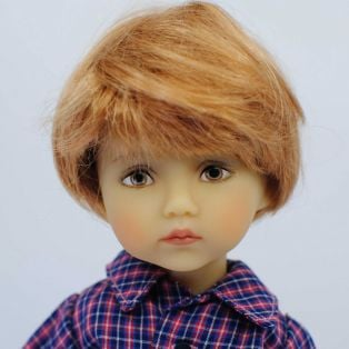 BONEKA Monday's Child BROWN EYES George 25cm Doll