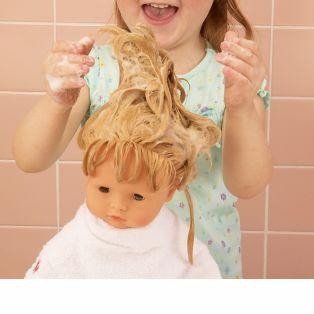 Gotz Cosy Aquini Soft Body Bath Doll Sleepy Eyes, 33cm, S