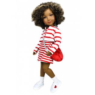 Ruby Red Galleria Fashion Friends Hearts & Stripes Outfit 36cm alternate image