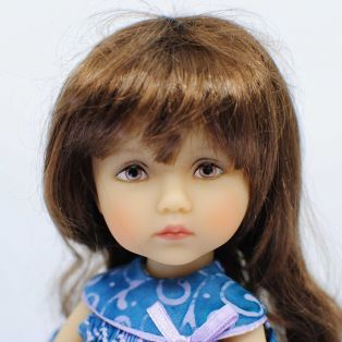 BONEKA Monday's Child BROWN EYES OOAK Hedda 25cm Doll