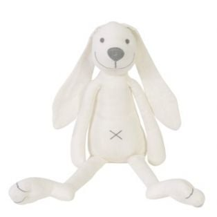 Happy Horse Ivory White Linen Rabbit Richie 41cm