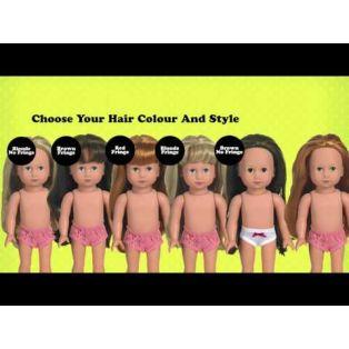 Style Me! Gotz Mia 27cm Doll (Fringe), XS alternate image
