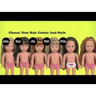 Style Me! Gotz Paula 27cm Doll (No Fringe), XS alternate image
