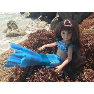 Maru & Friends Poppy The Mermaid Mini Pal Doll 33cm alternate image