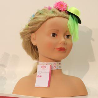 Gotz Signature Edition Hair Styling Doll Head