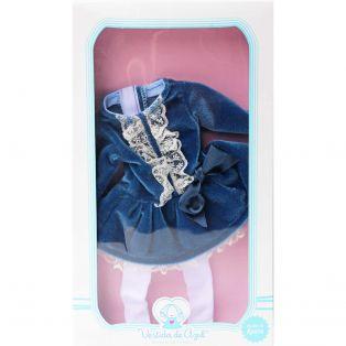 Vestida de Azul Paulina Blue Velvet CLOTHES SET 33cm   alternate image