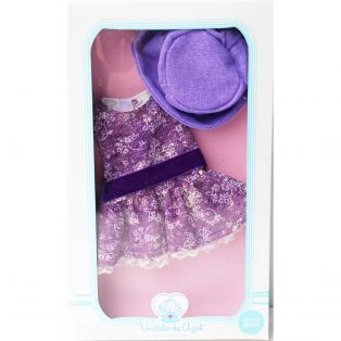 Vestida de Azul Paulina Purple CLOTHES SET 34cm   alternate image