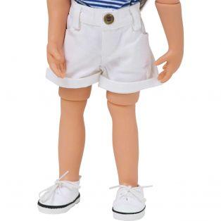 Denim Collection: White Denim Shorts 45-50cm