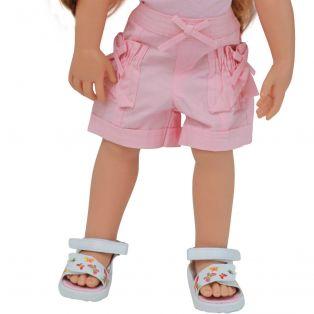 Pink Cotton Shorts 45-50cm alternate image