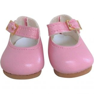 Vestida de Azul PAULINA Pink Mary Jane Shoes
