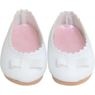 Vestida de Azul CORAL DOLL White Ballet Shoes 45cm