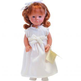 D'Nenes Marieta Doll Holy Communion (Red hair) 36cm