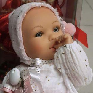 Marina & Pau Alex 38cm Baby Girl Cries & Sucks Her Thumb alternate image