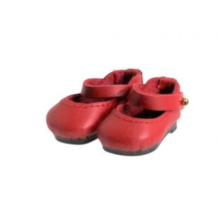 Boneka Mary Jane Shoes 38mm x 17mm Red