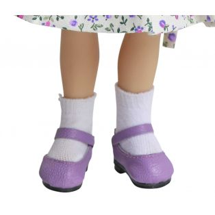 Boneka Mary Jane Shoes 38mm x 17mm Lilac