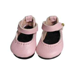 Boneka Mary Jane Shoes 38mm x 17mm Pale Pink