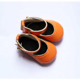 Boneka Mary Jane Shoes 38mm x 17mm Orange