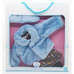 Vestida de Azul Coral Blue Fur Coat CLOTHES SET 45cm   alternate image
