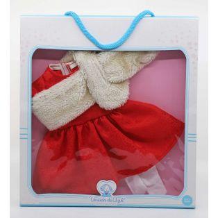 Vestida de Azul Coral Red Dress CLOTHES SET 45cm