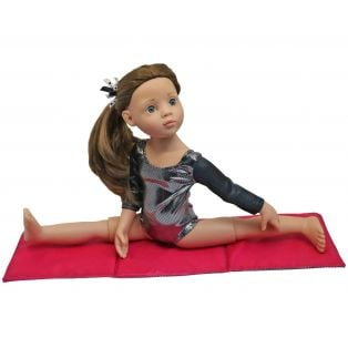 Sophia's Gymnastics Leotard & Mat Set 45-50cm alternate image